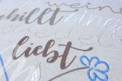 Details Stickerei