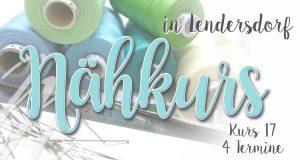 Nähkurs 17- August/September - Anfänger & Fortgeschrittene @ Michèle Z. Design Atelier