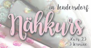 Nähkurs 23- September/Oktober - Anfänger & Fortgeschrittene @ Michèle Z. Design Atelier
