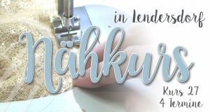 Nähkurs 27- Oktober/November - Anfänger & Fortgeschrittene @ Michèle Z. Design Atelier